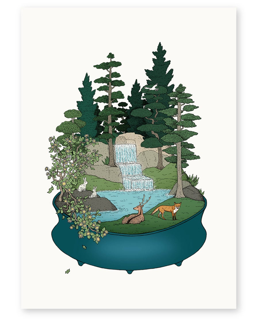 Image of 'Forest Edge' Limited Edition Art Print