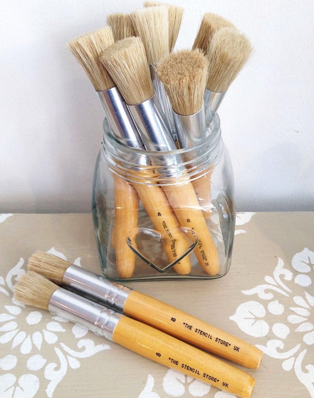 stencil brush    nicolette tabram