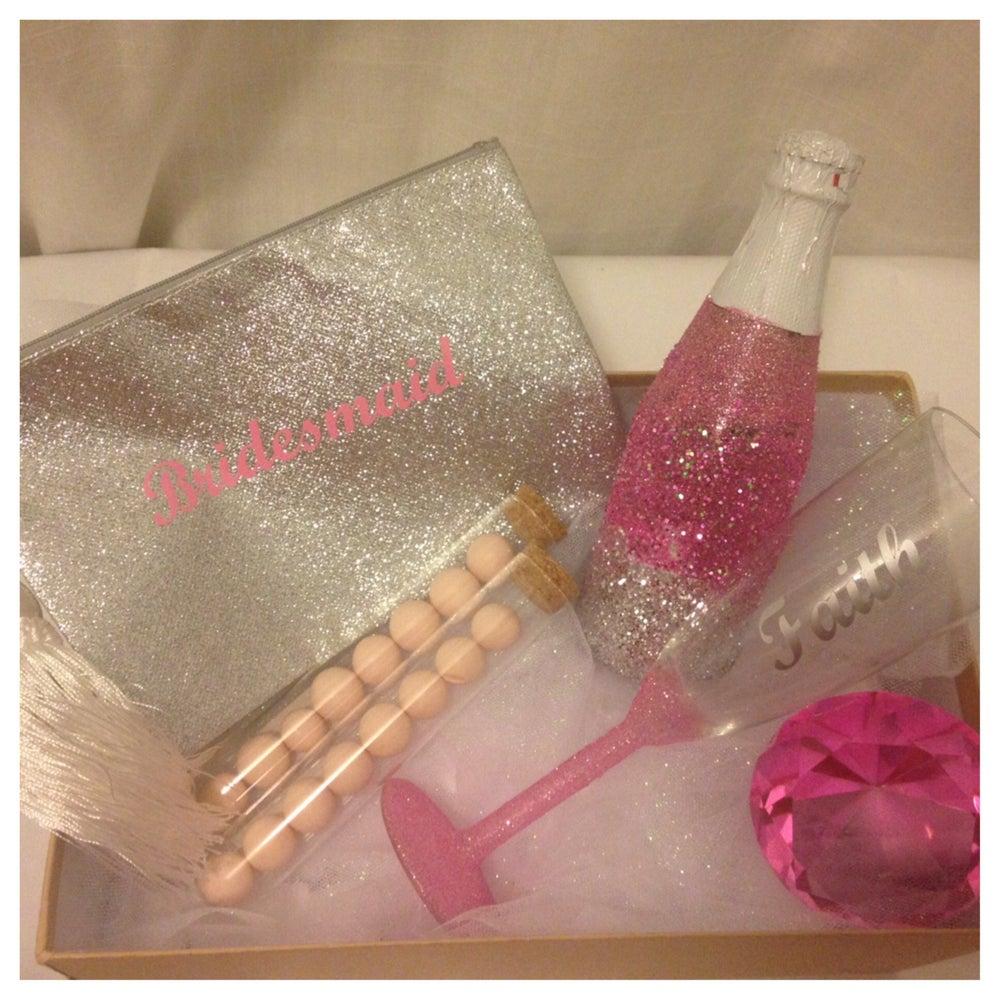 Image of Glitter Champagne Flute