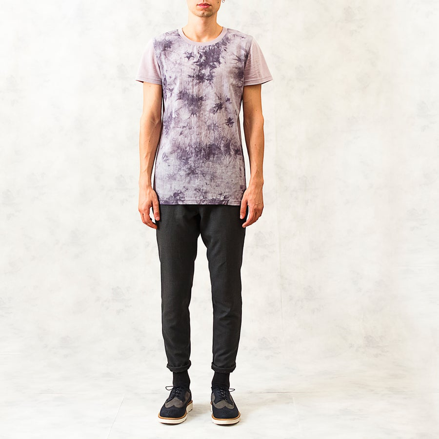 Image of Tie-Dye Cotton-Blend T-Shirt