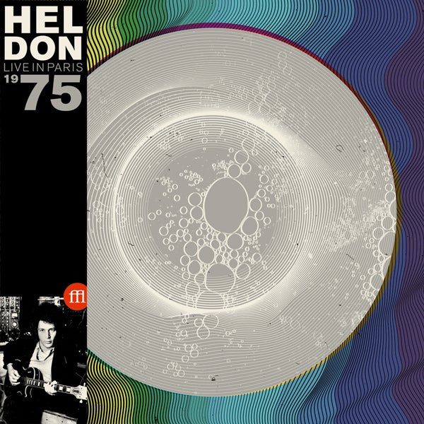 Image of HELDON - LIVE IN PARIS 1975 - RSD 2015 EXCLUSIVE - (FFL007 MIXED BLUE, WHITE & TRANSPARENT VINYL)