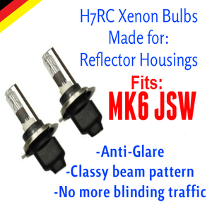 Image of H7rc Xenon HID Kit fits: MK6 JSW