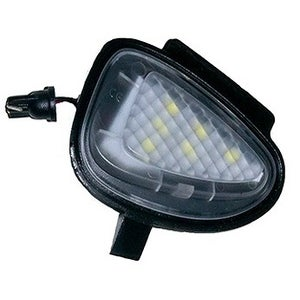 Image of Side View Mirror Puddle LED Housing fits: MK6 Golf/GTI