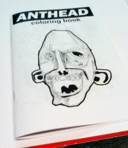 Image of anthead coloring book