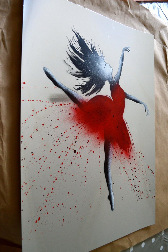 """Image of """"The Ballerina"""" Shiny Silver Paper Edition"""