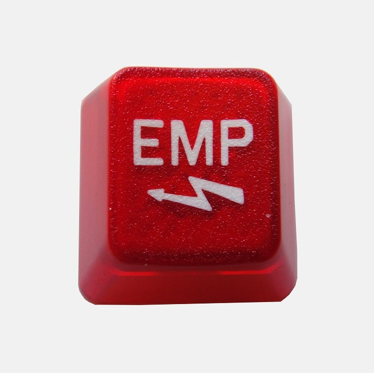 Image of Translucent Red EMP Keycap