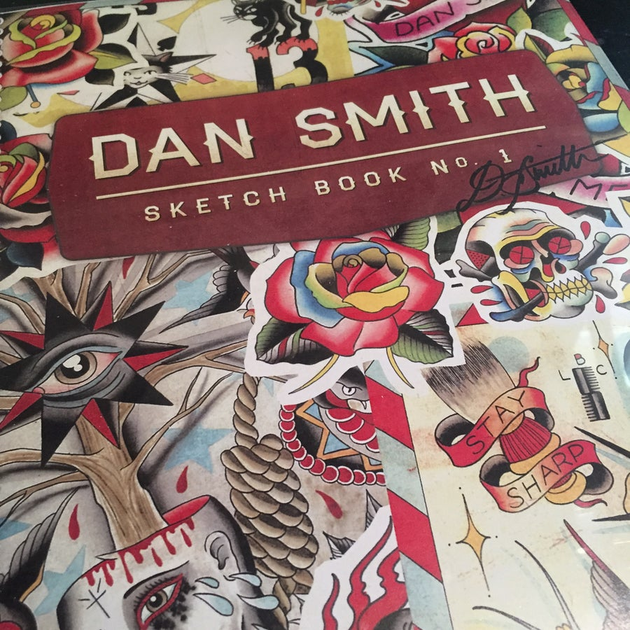 Image of DAN SMITH SKETCHBOOK No.1