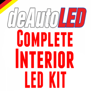 Image of Complete Interior LED Kit fits: BMW X3 [e83]