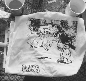 Image of PASS/FISH SHIRT WHT