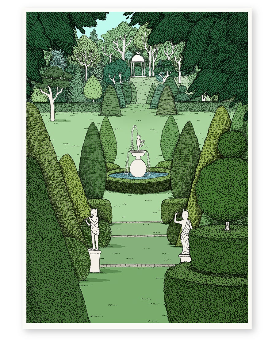 Image of 'Le Jardin' Limited Edition Art Print