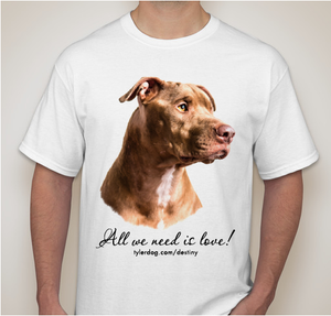 Image of Destiny the Pibble T-Shirt 2014