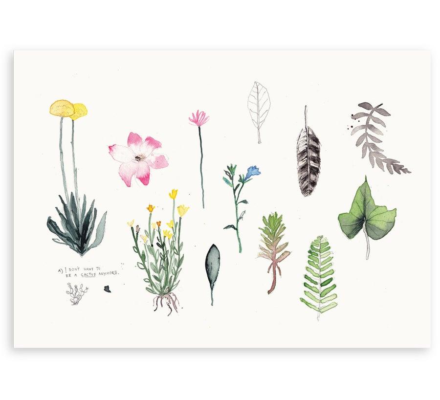 Image of 'Botanical' Art Print