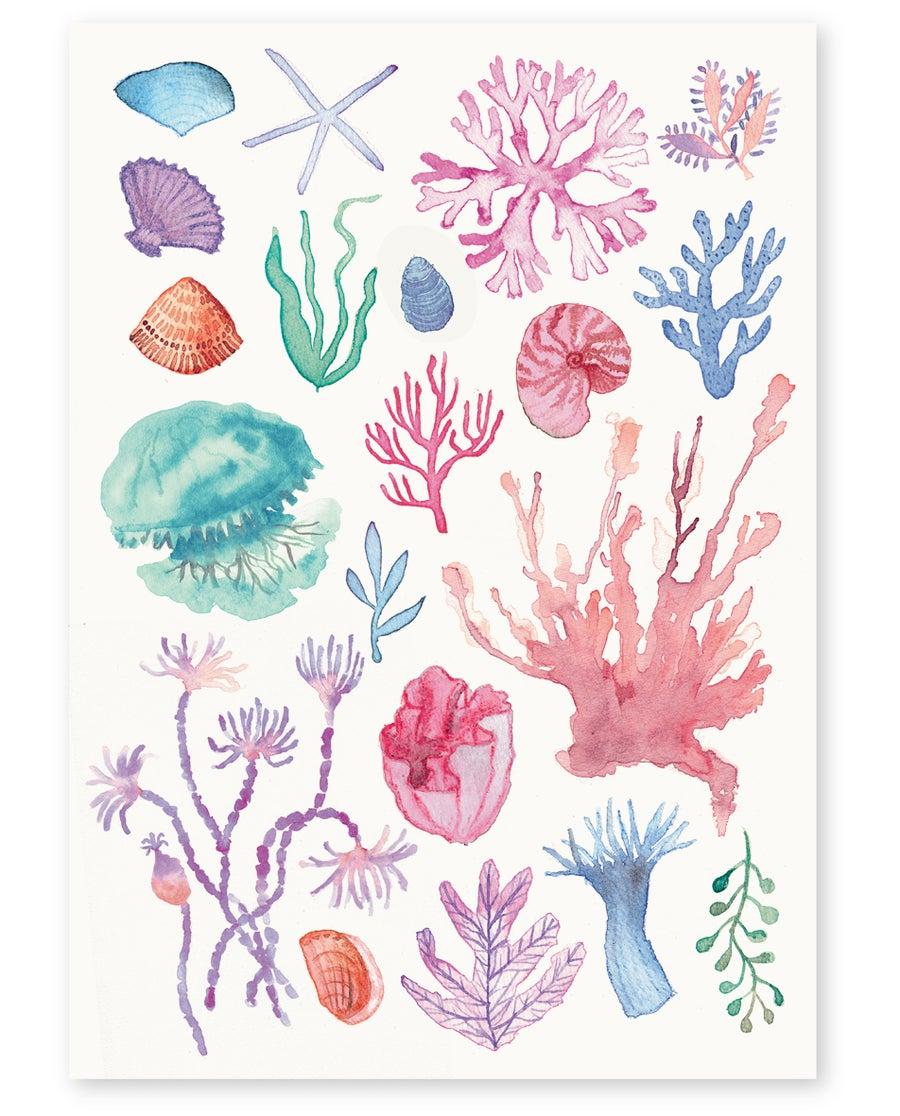 Image of 'Under the Sea' Art Print