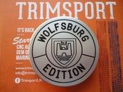 Image of Trimsport VW Golf Mk3 Wolfsburg Edition Outline Boot Badge