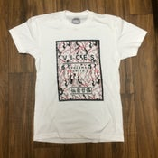 Image of Vices Block Tee - Cherry Blossom