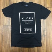 Image of Vices Block Tee - Black
