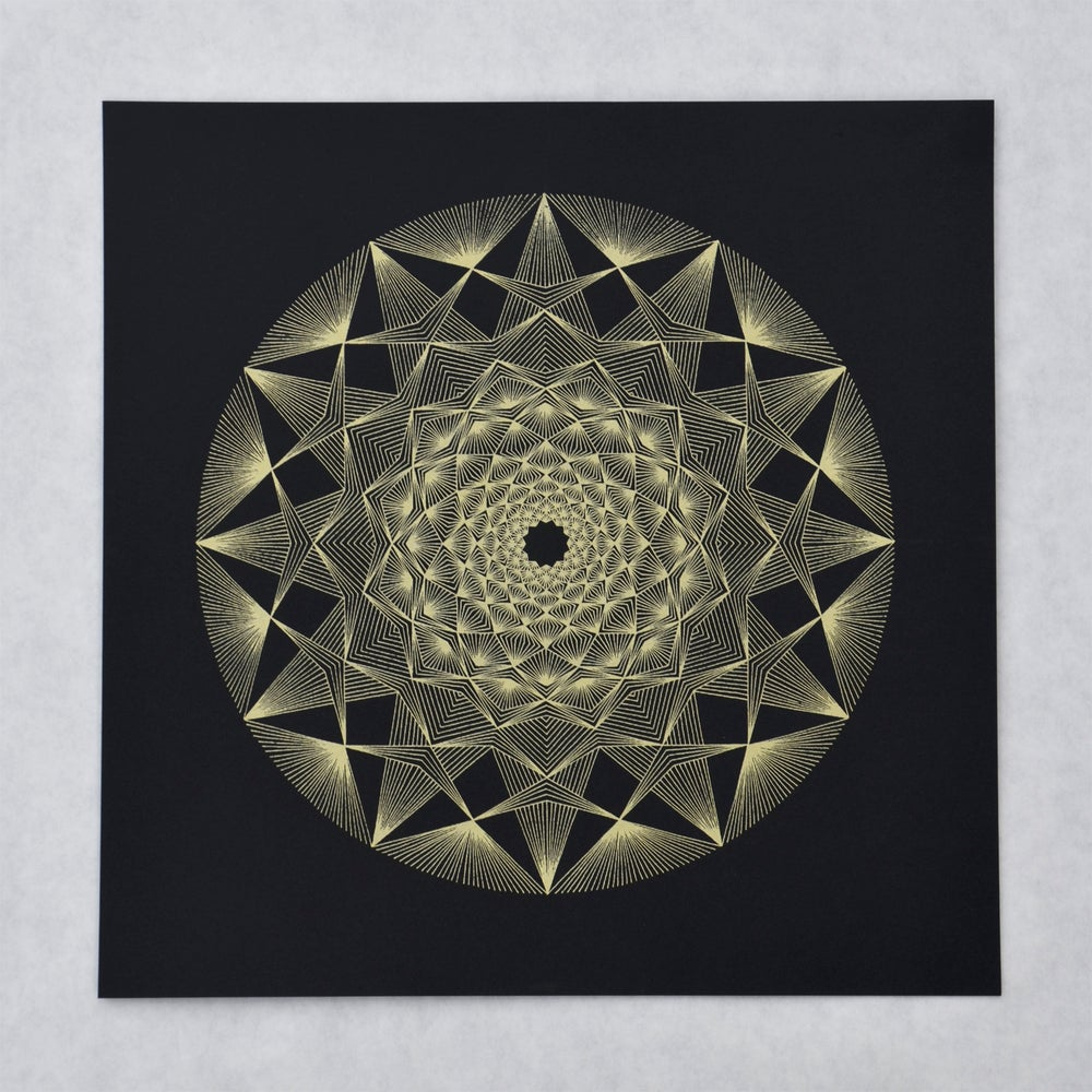 Image of The Light In Me Reflects the Light In You   Limited Edition Screen Print