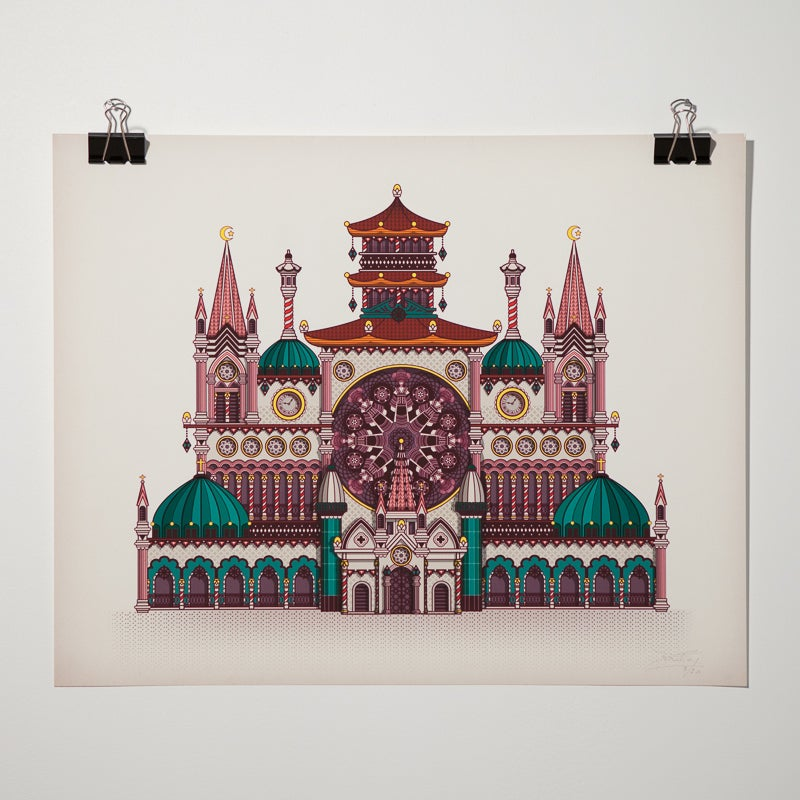 "Image of Digigraphie ""D'Hanoï à Saïgon"" par Koralie"