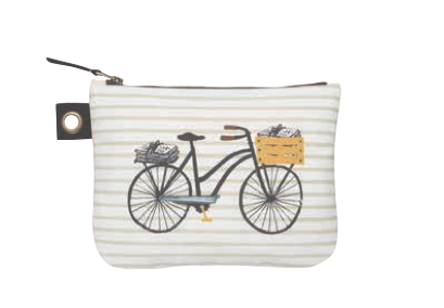 Image of Bicicletta Small Zipper Pouch