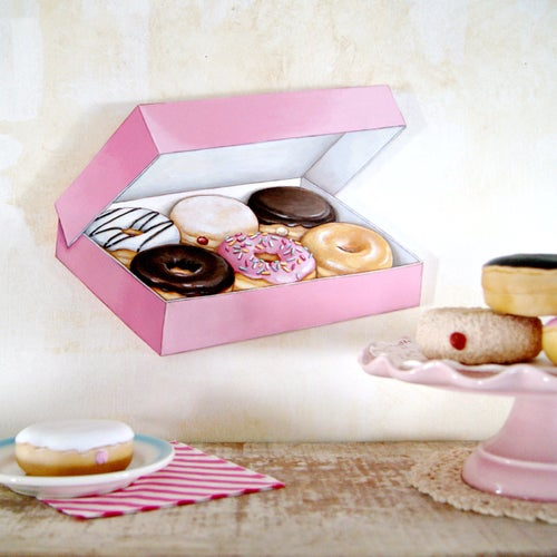 Image of Box of Donuts plaque