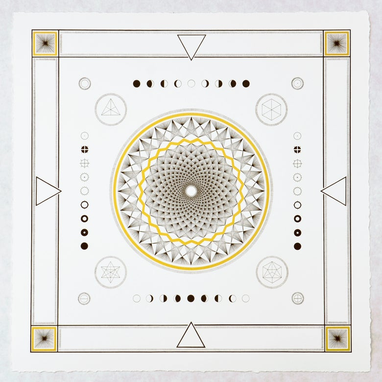Image of The Perfect Illusion   Limited Edition Giclée + Screen Print