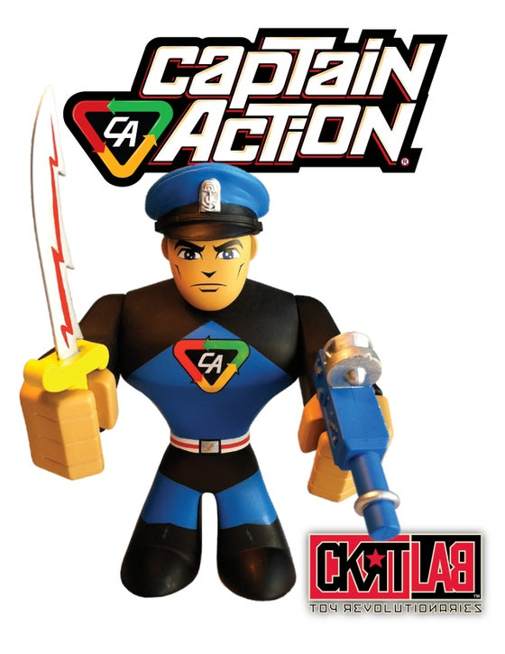 Image of CAPTAIN ACTION: CLASSIC '66