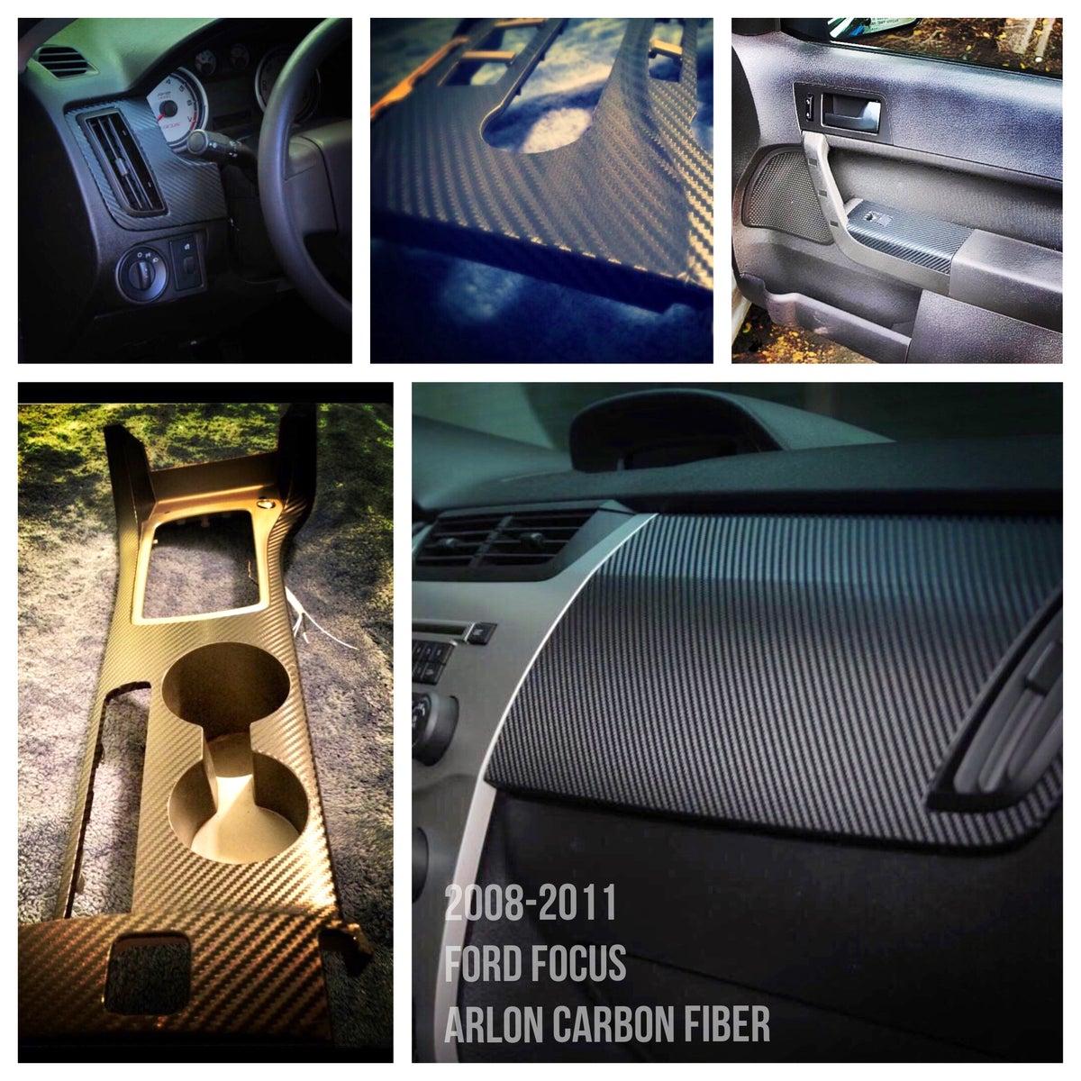 D3k Customs Ford Focus 2008 2011 Carbon Fiber Interior