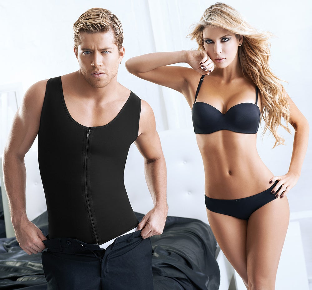 Image of MENS ZIP UP GEAR COMPRESSION TANK
