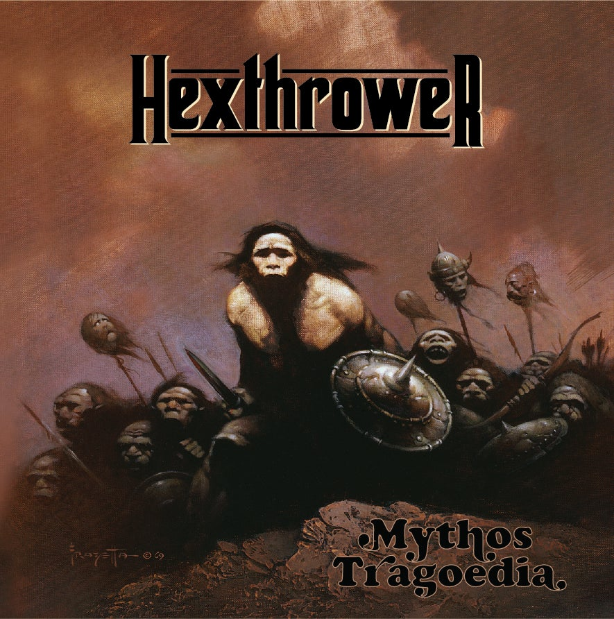 Image of Hexthrower - Mythos Tragoedia Album via Printed Download Card