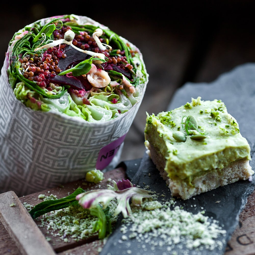 Image of Raw food catering