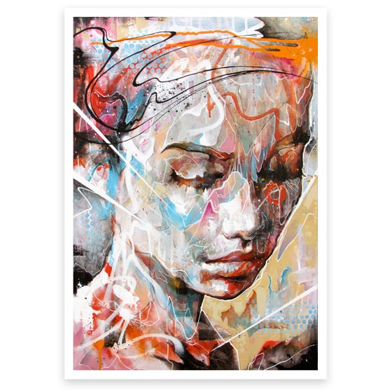 Image of Drenched In Reflection OPEN EDITION PRINT on Fine Art Paper