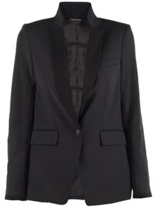 Image of Rag and Bone - Rosenburg blazer black