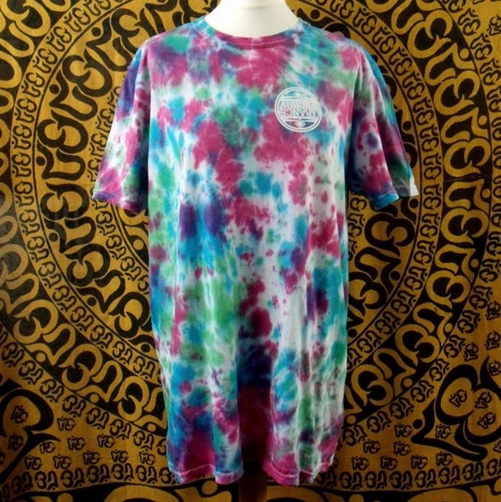 Image of Tropical tie dye t-shirt
