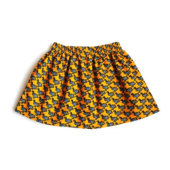 Image of little chicks cotton skirt