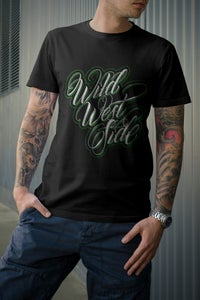 Image of Mens IGNITE Script T-Shirt - Green