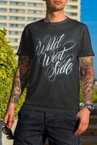 Image of Mens IGNITE Script T-Shirt - Blue