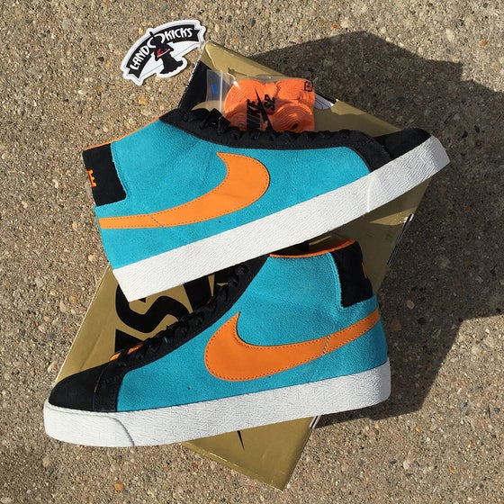 Image of Nike Blazer SB 'Chlorine''