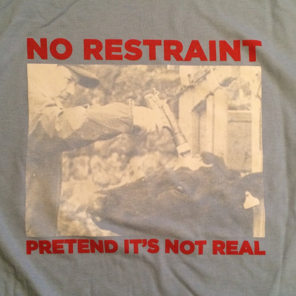 Image of Pretend It's Not Real Shirt - BLUE