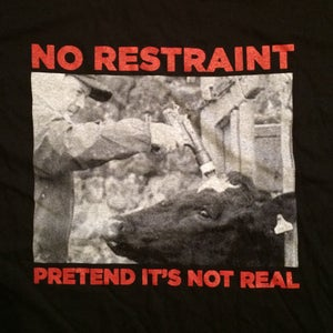 Image of Pretend It's Not Real Shirt - BLACK