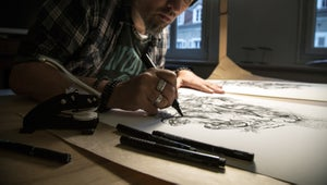 Image of Naim Hand Embellished Edition by Dzo Olivier