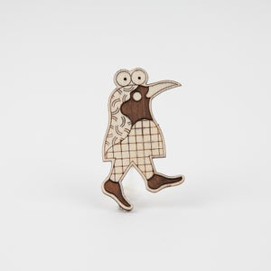"Image of Broche "" Oiseau"" par Hell'O Monsters"
