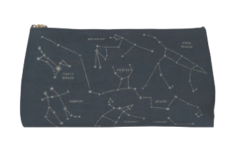 Image of Galaxy Pencil Cosmetic Bag
