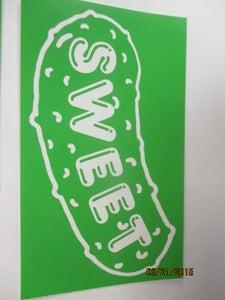 Image of XL OG SWEET STICKER