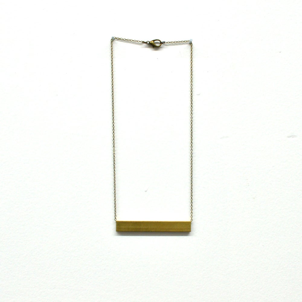 Image of Bar Necklace