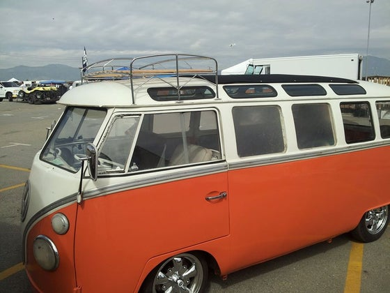 "Image of VW ""QUARTER SHEET"" BUS ROOF RACK"
