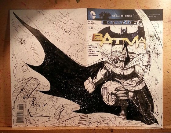 Image of Batman Sketchcover