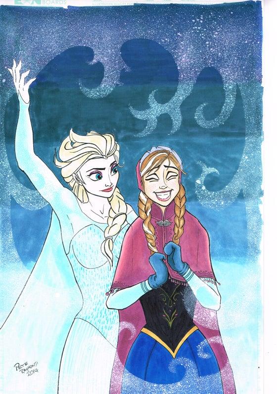 Image of Anna & Elsa Original