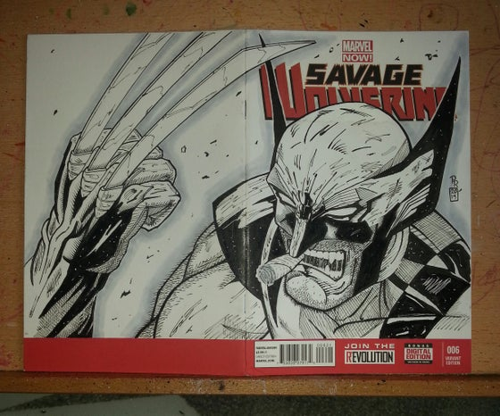Image of Wolverine Sketchcover