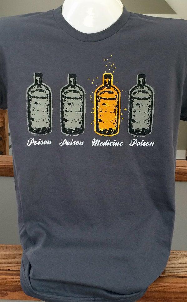 Image of Poison & Medicine Bottle T