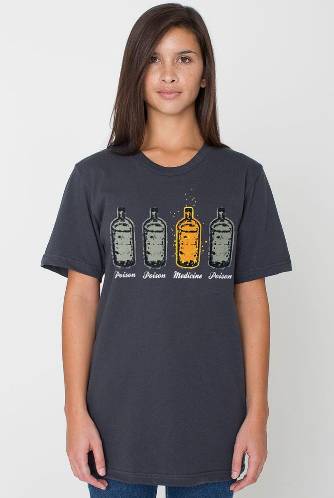 Image of Poison & Medicine Bottle T